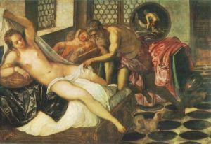 Tintoretto - Venere Vulcano e Marte
